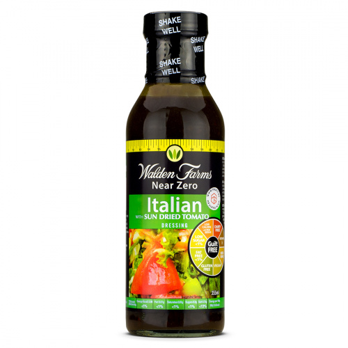 Walden Farms - Italian with Sun Dried Tomato Salad Dressing