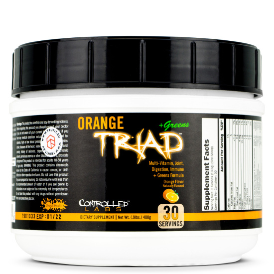 Controlled Labs - Orange TRIad + Greens