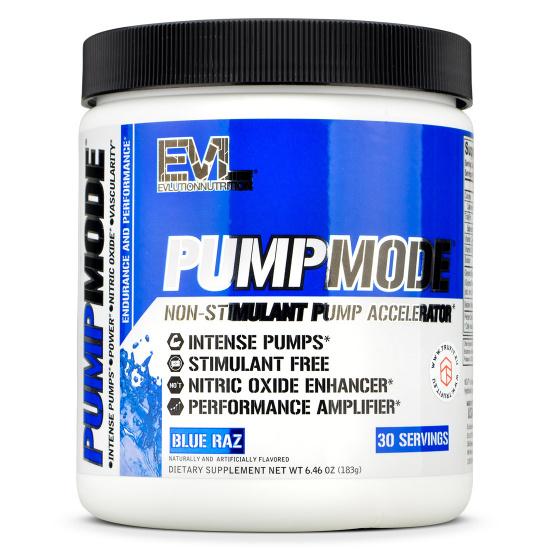 EVL Nutrition - Pump Mode
