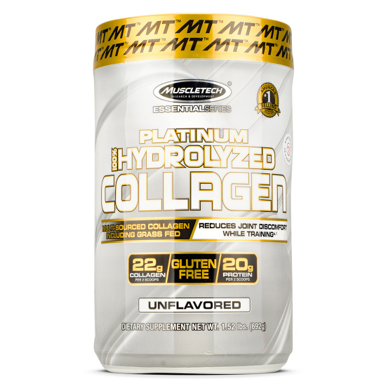 Muscletech - Platinum 100% Hydrolyzed Collagen