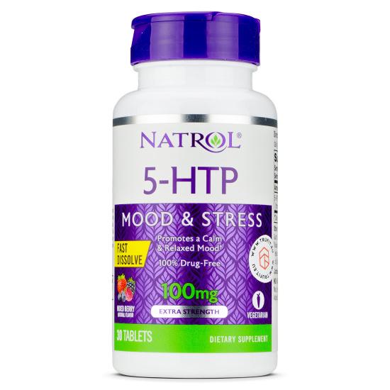 NATROL - 5-HTP 100 mg Fast Dissolve