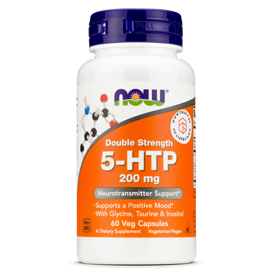 Now Foods - 5-HTP 200mg