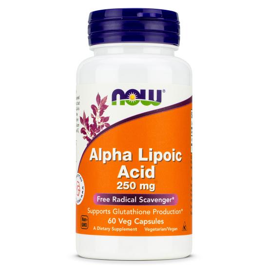 Now Foods - Alpha Lipoic Acid 250mg