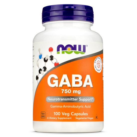 Now Foods - Gaba 750mg