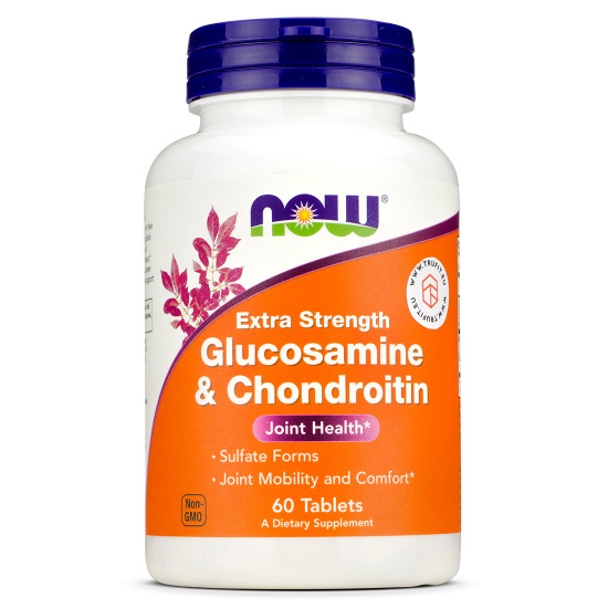 Now Foods - Glucosamine & Chondroitin Extra Strength