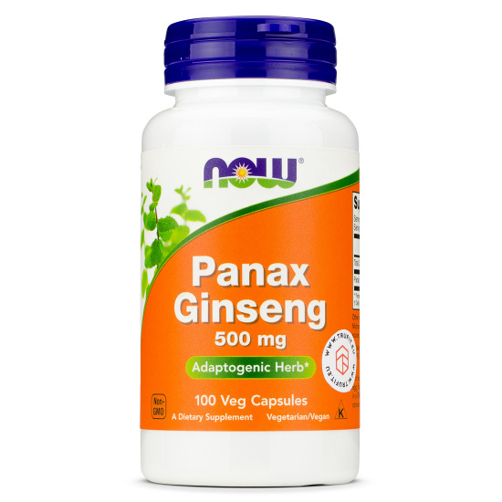 Now Foods - Panax Ginseng 500 mg