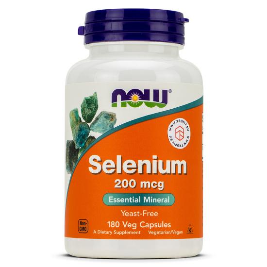 Now Foods - Selenium 200 mcg