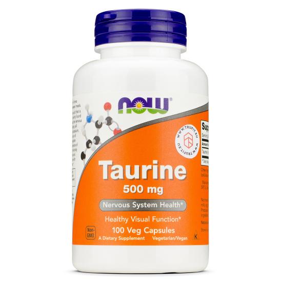 Now Foods - Taurine 500 mg