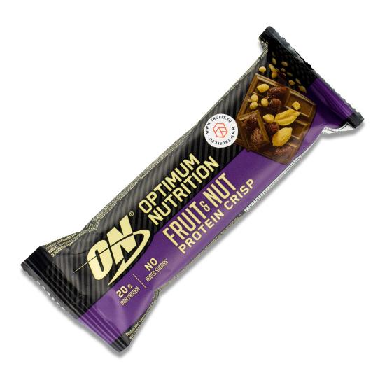 Optimum Nutrition - Fruit & Nut Protein Crisp Bar
