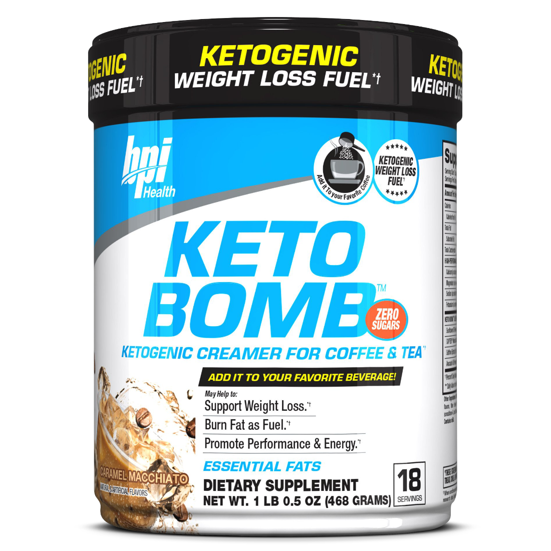 The World's first KETO creamer