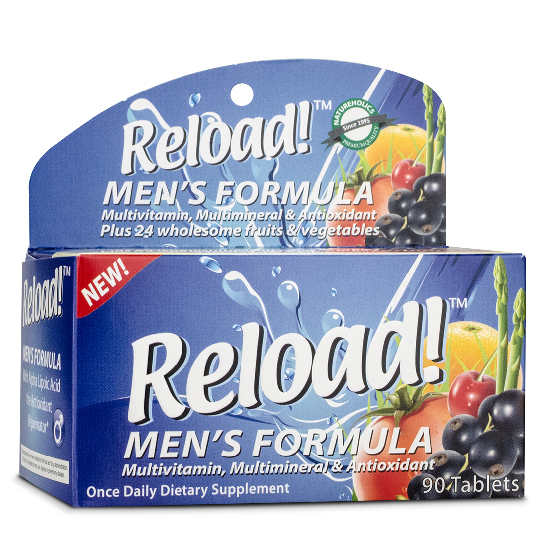 Once-daily supplement for men